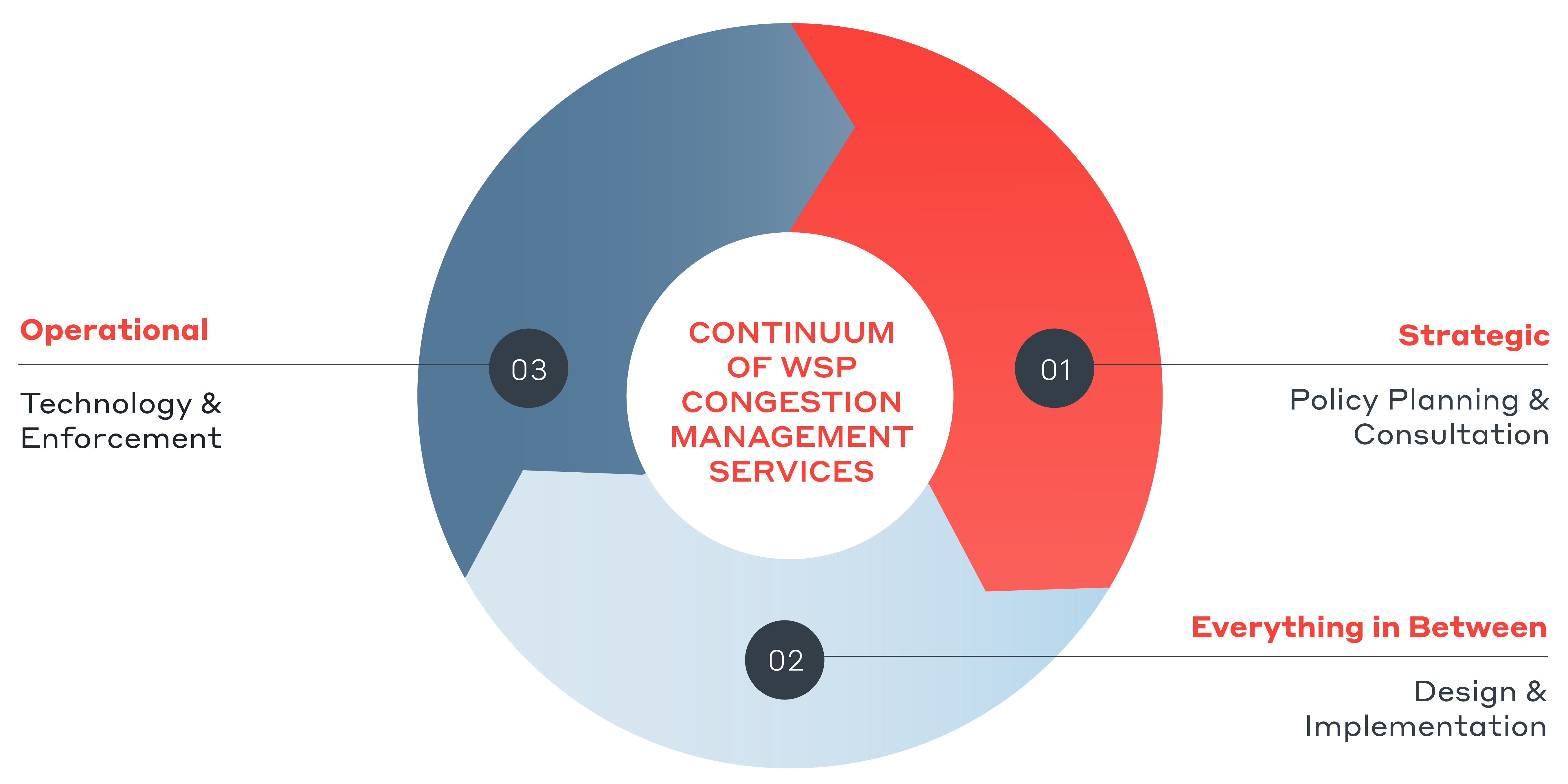 Continuum of WSP Congestion Management Services