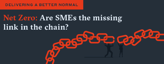 Are SMEs the missing link in the Net Zero targets?