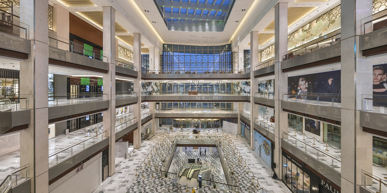 The Galleria Al Maryah Island Atrium