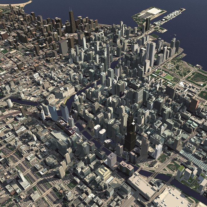Creating a Smart 3D Model of Chicago | WSP
