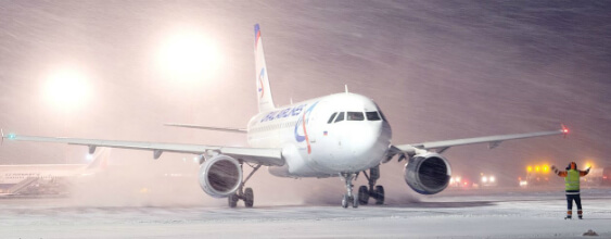 "Extreme weather events at Cardiff Airport during 2010's ""Big Freeze"""