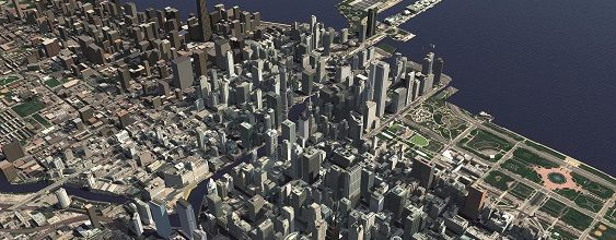 virtual model of chicago
