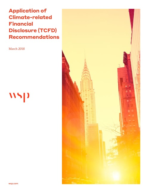 Application of Climate-related Financial Disclosure Recommendations