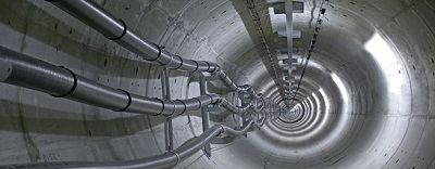 Underground tunnels of our infrastructure