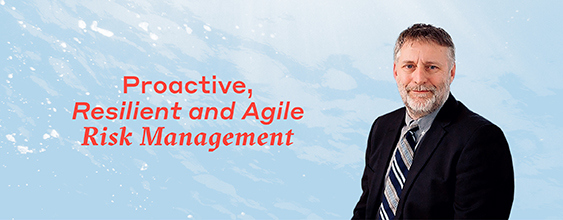 Ray Winn delivers proactive, resilient and agile risk management to WSP