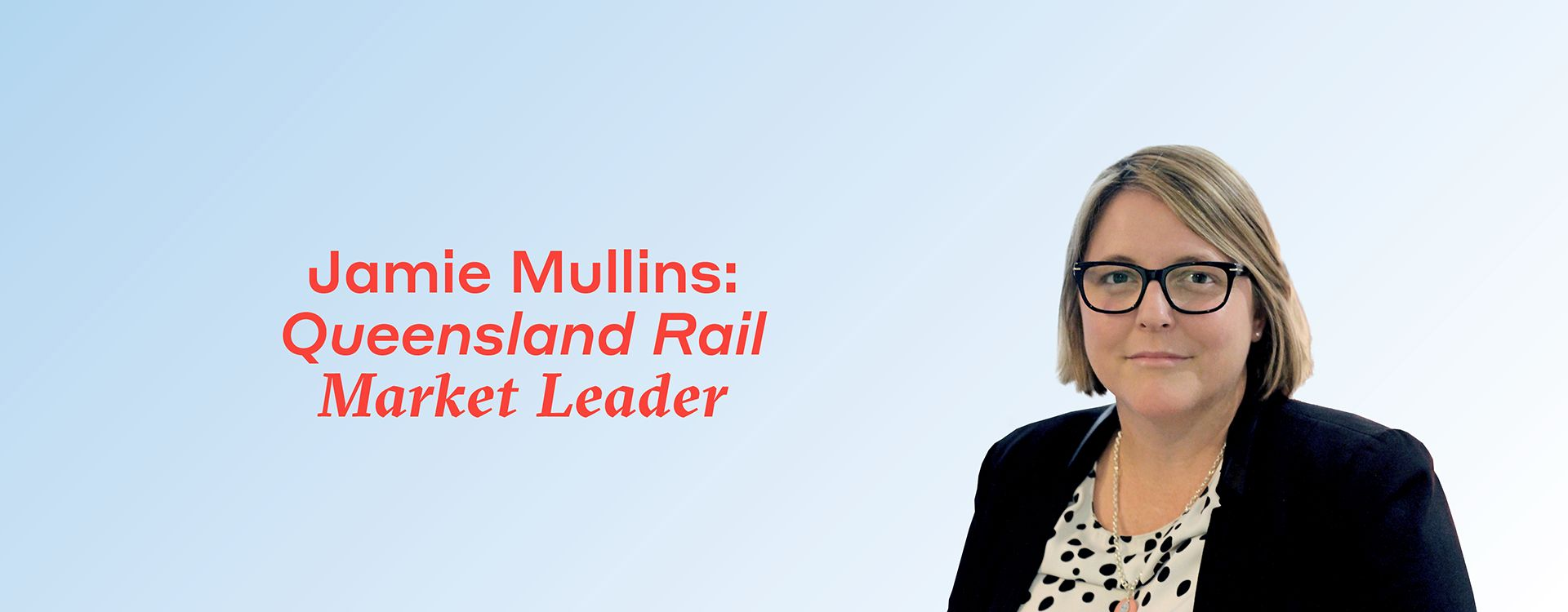 Jamie Mullins is helping WSP to strengthen our rail team to benefit modern, sustainable communities
