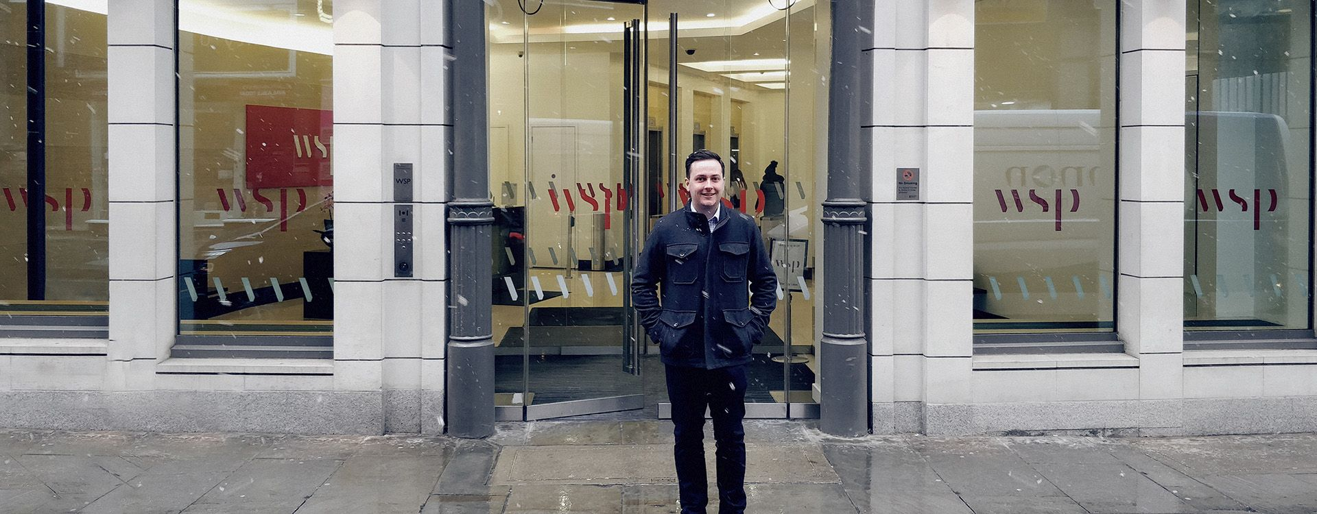 Trent Byrne, Senior Engineer for WSP, seized an opportunity to spend up to two years working in our London office.