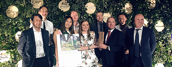 The Caulfield to Dandenong level crossing project won the Premier's Sustainability Award
