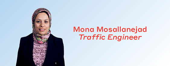 Mona Mosallanejad, WSP's Traffic Engineer, shares her insights at the Australian Transport Research Forum held in Darwin