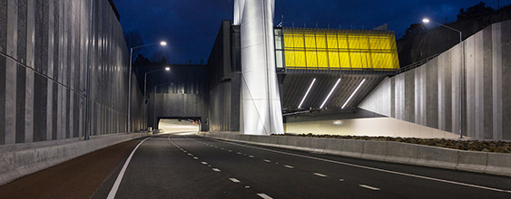 Waterview Connection, New Zealand's largest roading project opened more than a year ago