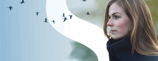 2019 Global Sustainability Report Banner - women with logo