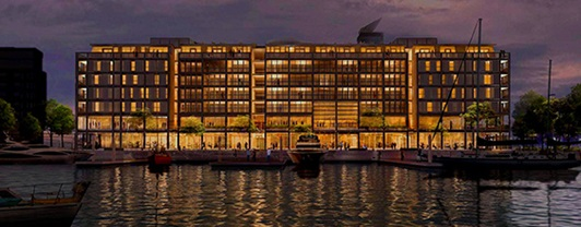 Park Hyatt: Auckland's new luxury hotel on the city's waterfront has benefited from WSP's integrated services.