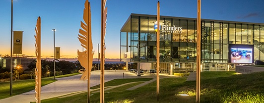 Light is a key ingredient in the award-winning design for Flinders University's student community.