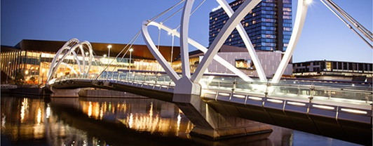 The Melbourne Convention and Exhibition Centre is an iconic mixed-use development, is the biggest of its kind in the southern hemisphere and a leader in environmentally sustainable design