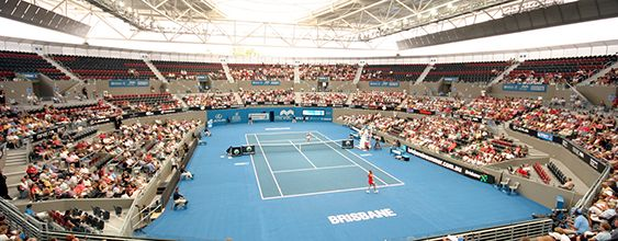 Keeping Comfort Centre Court at the Queensland Tennis Centre
