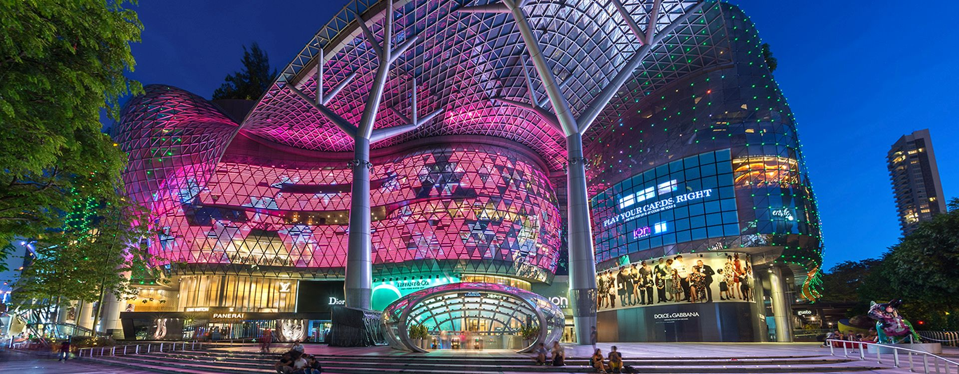 Orchard Residences and ION Orchard, Singapore | WSP