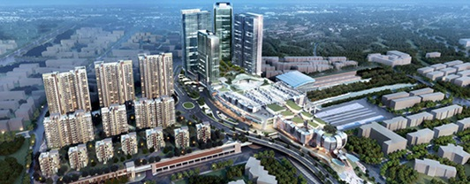 thn-xinzhuang integrated transport hub