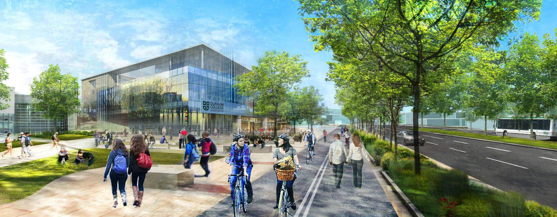University of ontario institute of technology and durham college joint campus master plan wsp - Durham college international office ...