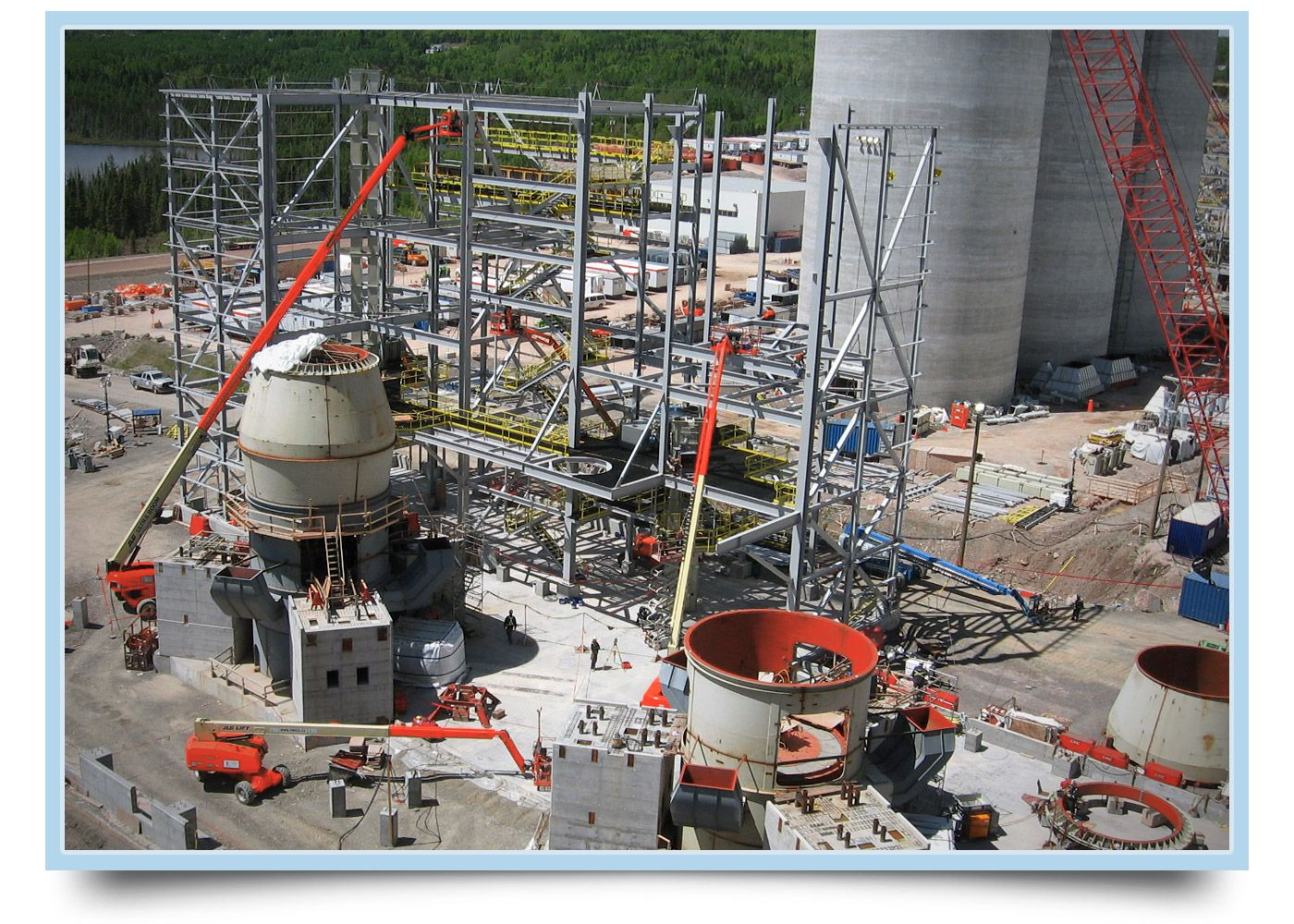 WSP was mandated by McInnis Cement, to take part in the definition of the most ambitious, modern and technologically advanced project in the cement industry in over 50 years.