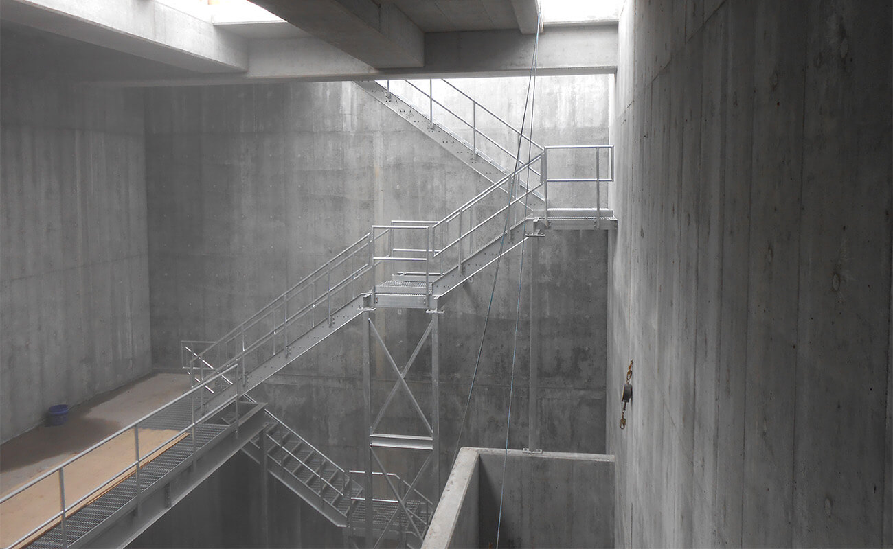 Inside view of the wet well of the Turcot interchange drainage network, Montréal, Québec, Canada | WSP