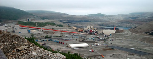 Gaspe Mine Rehabilitation Project