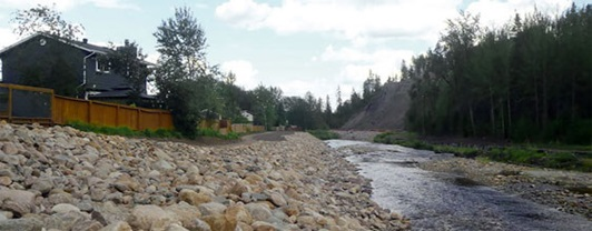 Hangingstone River Flood Recovery and Erosion Control