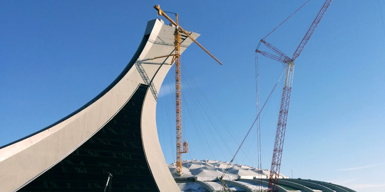 Montreal Olympic-Stadium-facades