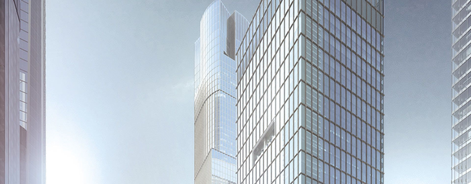 55 Hudson Yards High Rise Banner