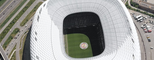 Engineering Allianz Arena- aerial view