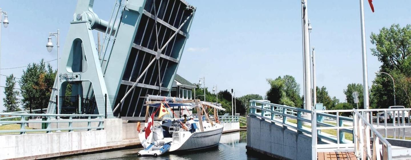 Bridge No.9 over the Chambly Canal