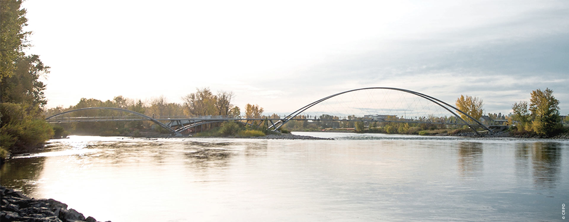 George C. King Bridge, Canadá