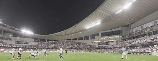 Engineering Hazza Bin Zayed Stadium