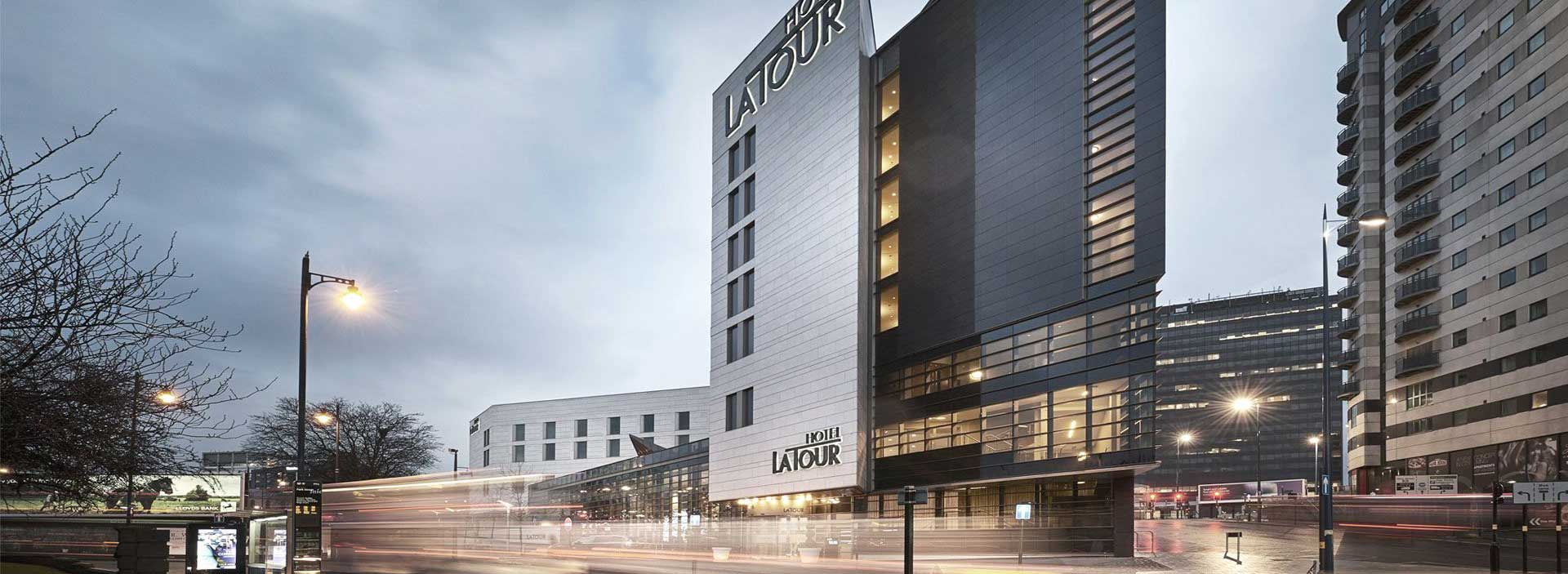 Engineering Hotel La Tour- exterior view- façades
