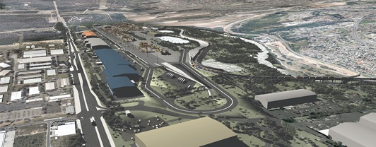 Moorebank Intermodal Yard Port