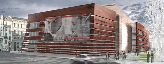 Engineering National Forum of Music, Poland- Exterior view