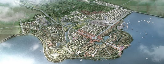 Rendering of Pearl Water City District