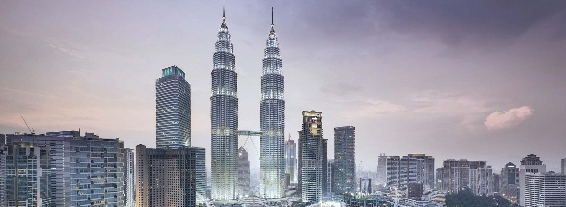 Engineering Petronas Towers and Kuala Lumpur City Centre- buildings