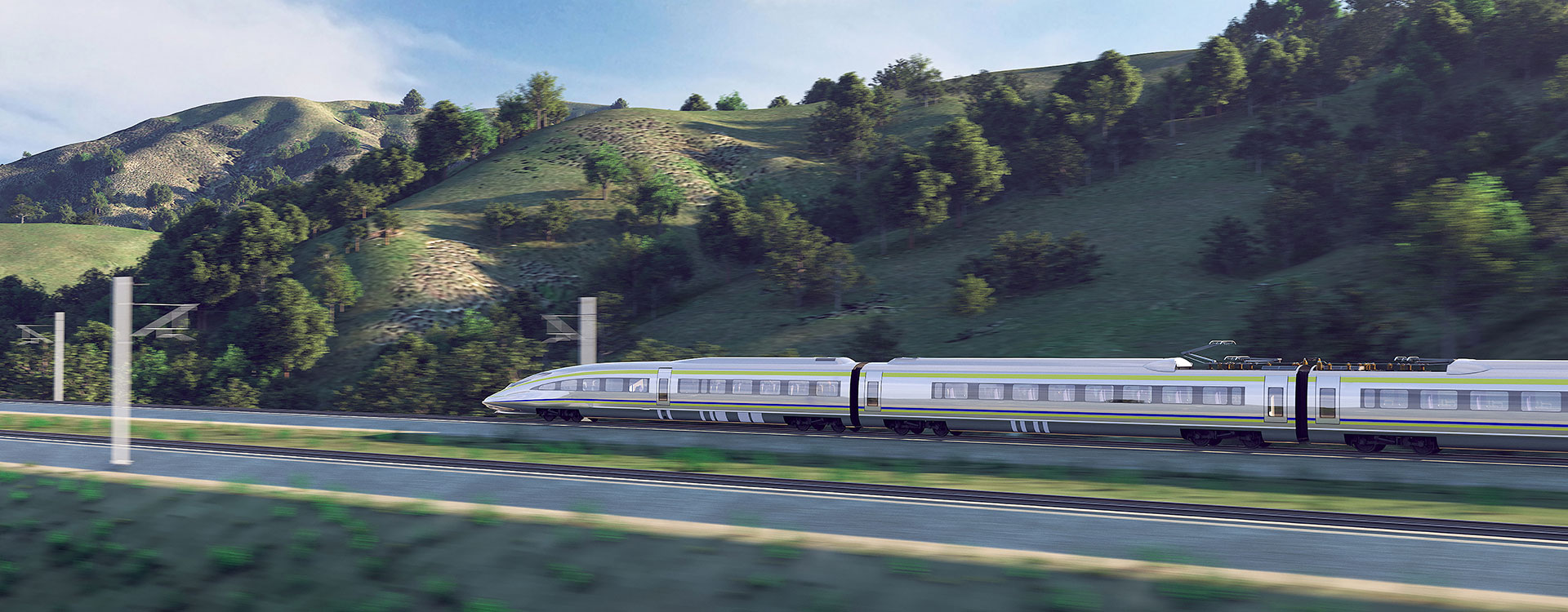 bnr-california high speed train