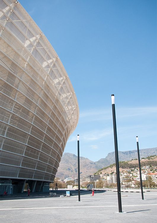 Engineering Cape Town Stadium – exterior view-façades