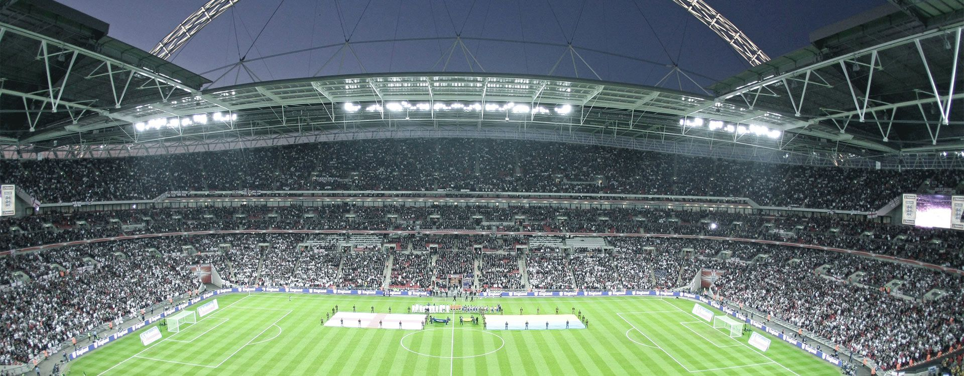Engineering Wembley Stadium- Interior-view