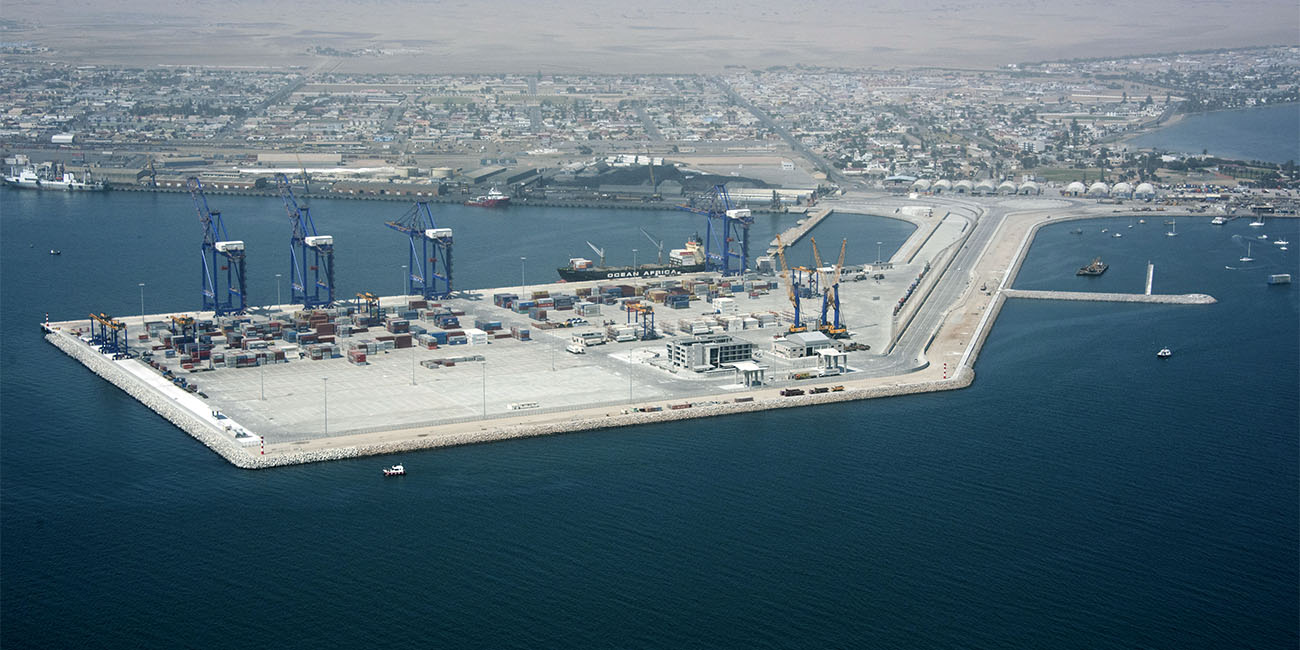 New Container Terminal at Walvis Bay, Namibia