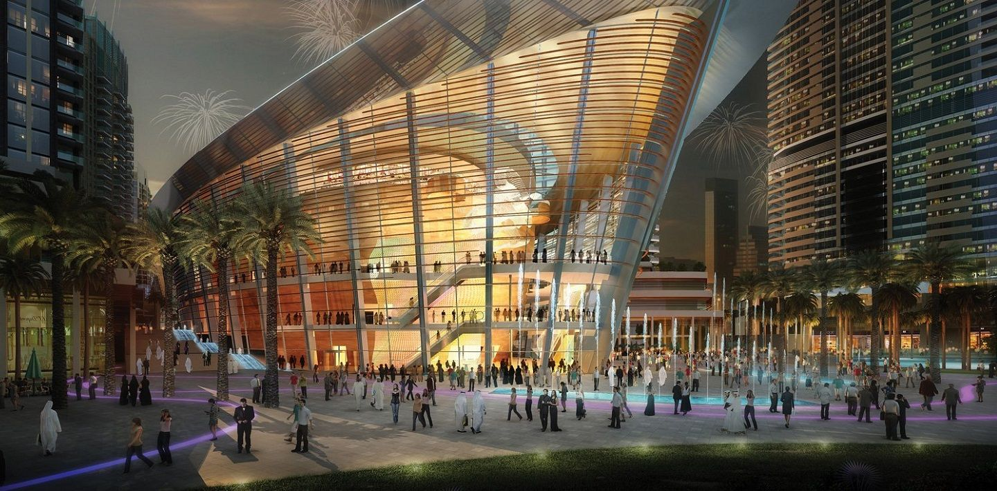 Engineering Dubai Opera House- exterior