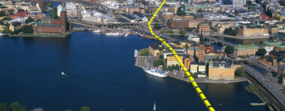City Line in Stockholm