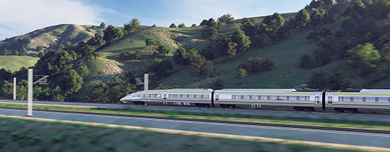 thn-california high speed train