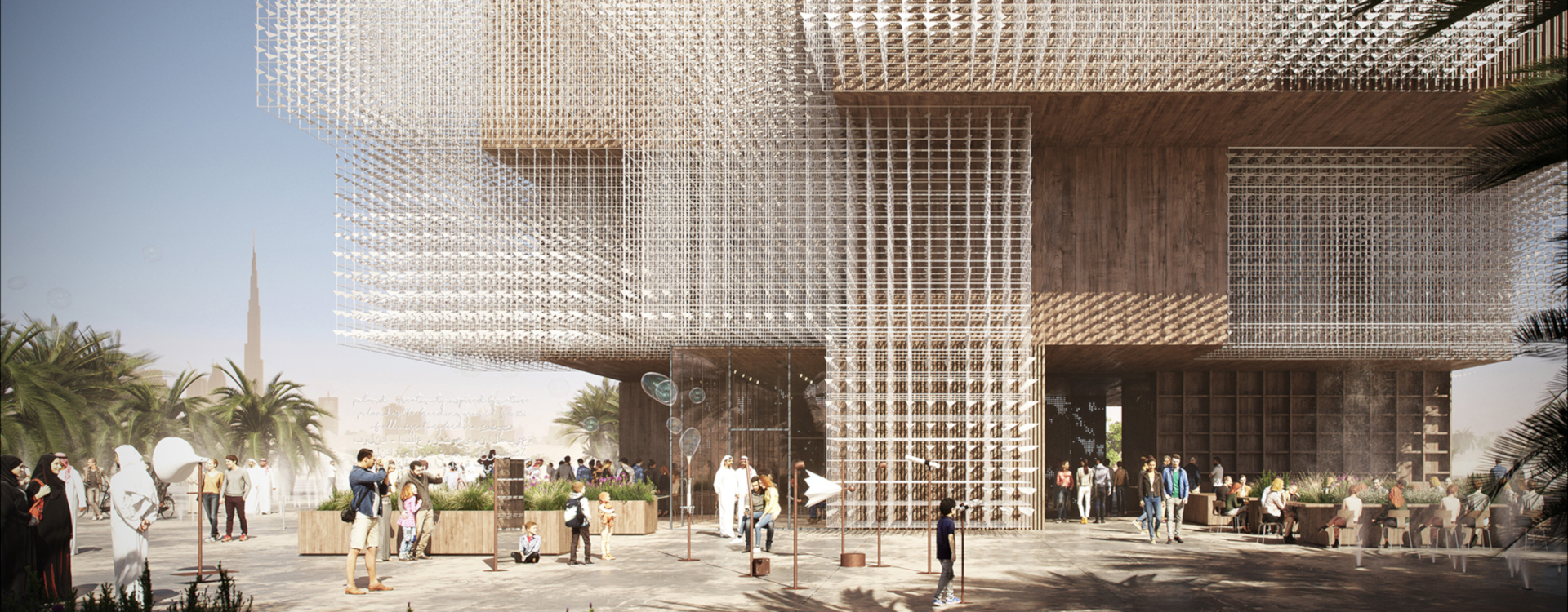 Polish pavilion facade - 2020 World Expo in Dubai | WSP