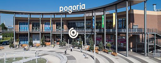 Pogoria shopping mall, Dabrowa Gornicza, Poland