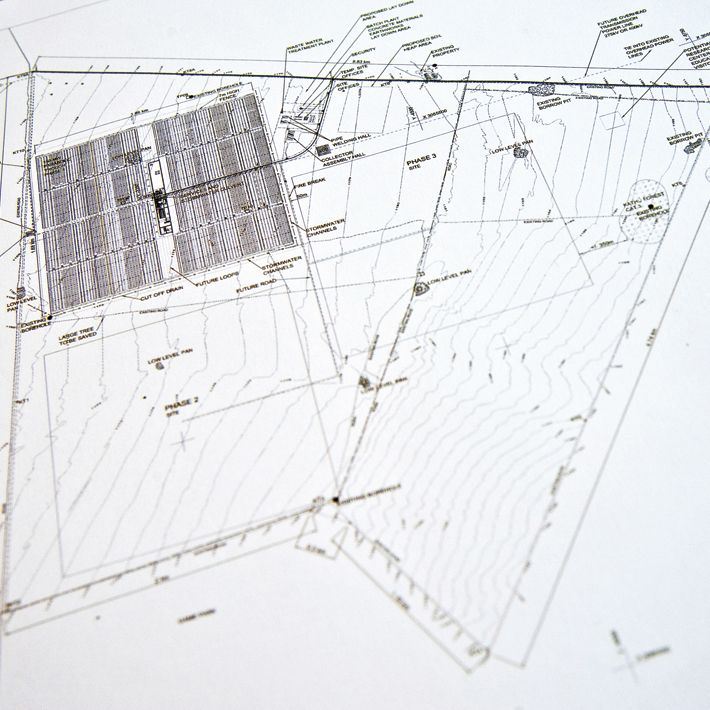 Kalahari Solar Power Project Site Plan, South Africa