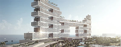 WSP is providing multidisciplinary services for the next few stages of the Royal Atlantis Resort and Residences in Dubai.
