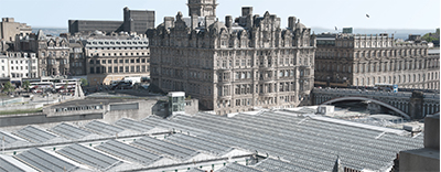 Strengthening the roof structure of this landmark rail station in the heart of Edinburgh