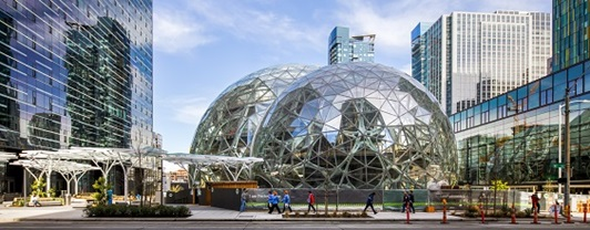 siedziba Amazon w Seattle, USA